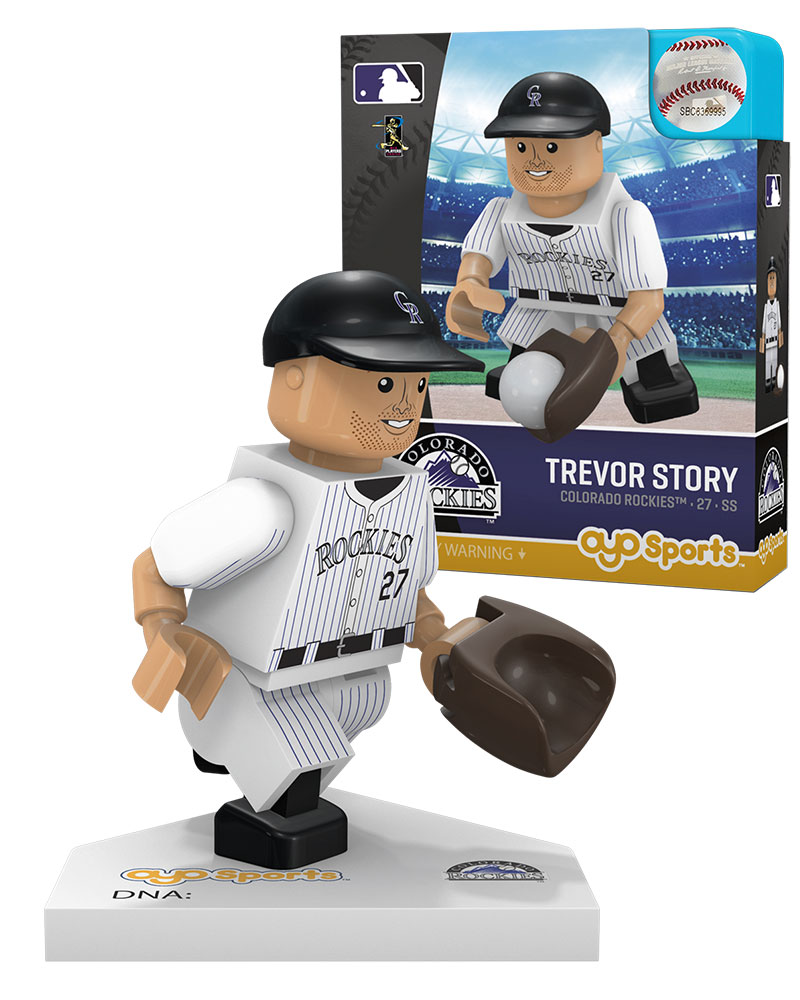 MLB COL ColoradoÿRockies TREVOR STORY Home Uniform Limited Edition