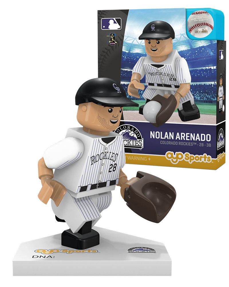 MLB COL ColoradoÿRockies NOLAN ARENADO Home Uniform Limited Edition
