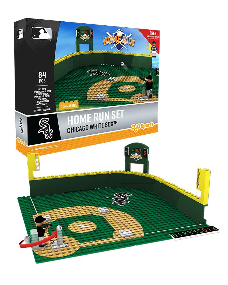 MLB CWS ChicagoÿWhiteÿSox Baseball Home Run Derby Set