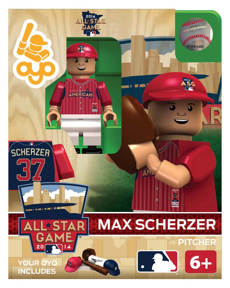 MLB - DET - Detroit Tigers Max Scherzer All Star Game 2014 Limited Edition