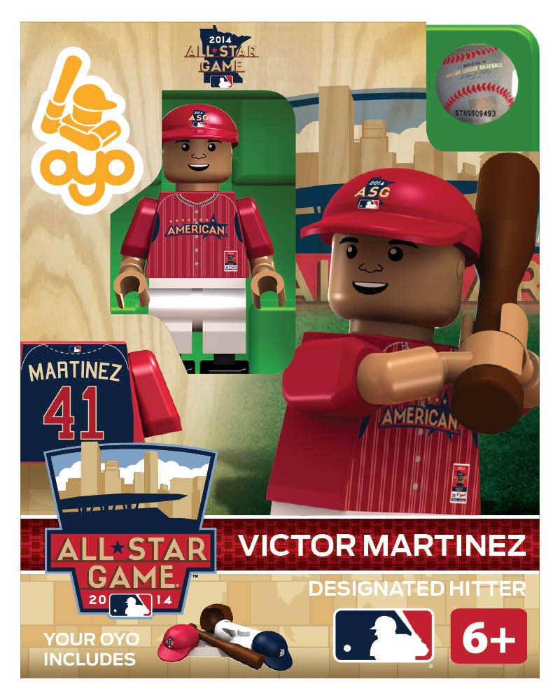 MLB - DET - Detroit Tigers Victor Martinez All Star Game 2014 Limited Edition