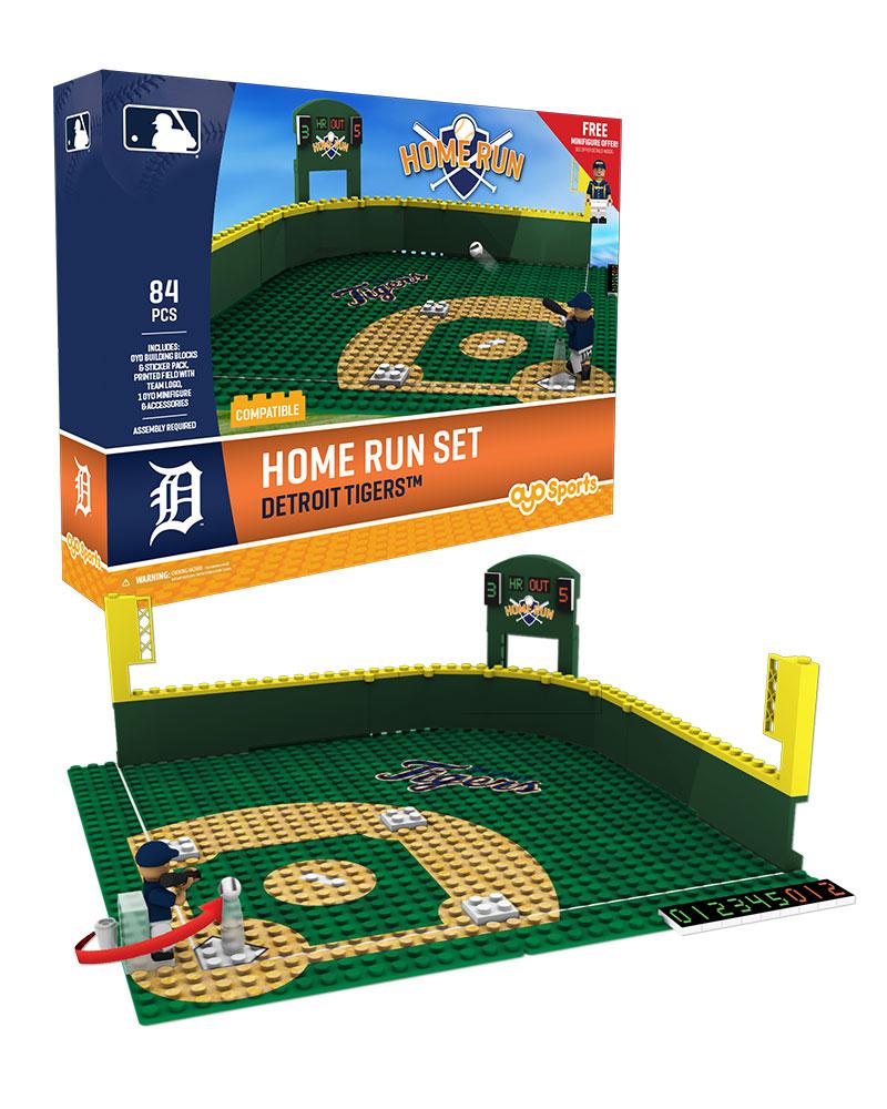 MLB DET DetroitÿTigers Baseball Home Run Derby Set