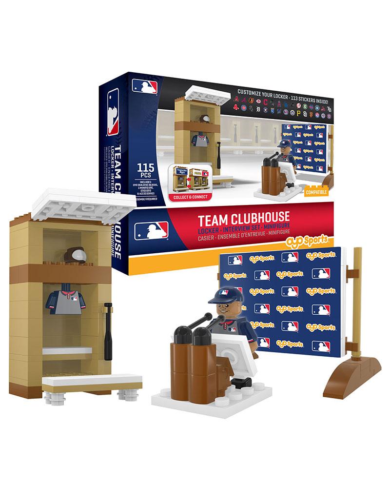 MLB GEN All 30 MLB Ball Clubs Locker Room Set