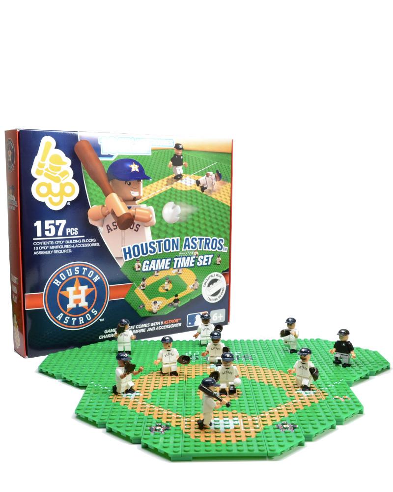 MLB HOU Houston Astros Baseball Gametime Set 1.5