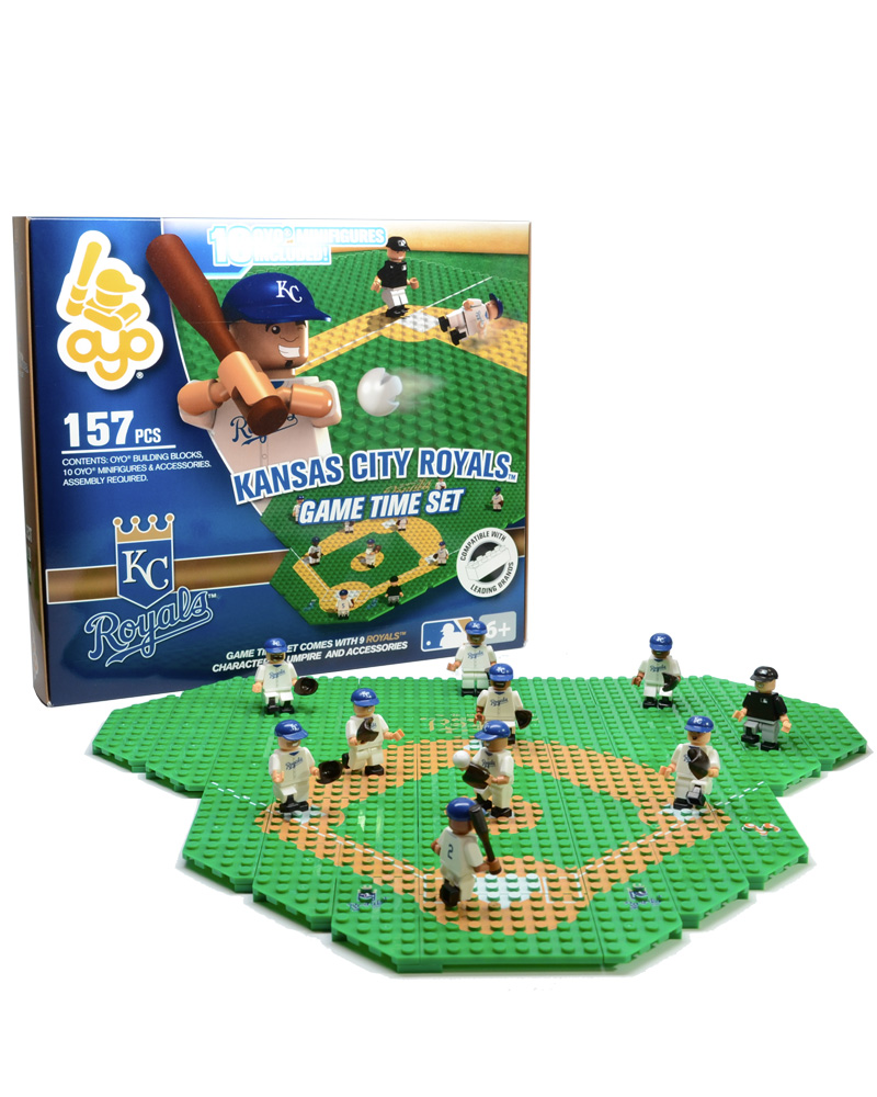 MLB KCR Kansas City Royals Baseball Gametime Set 1.5