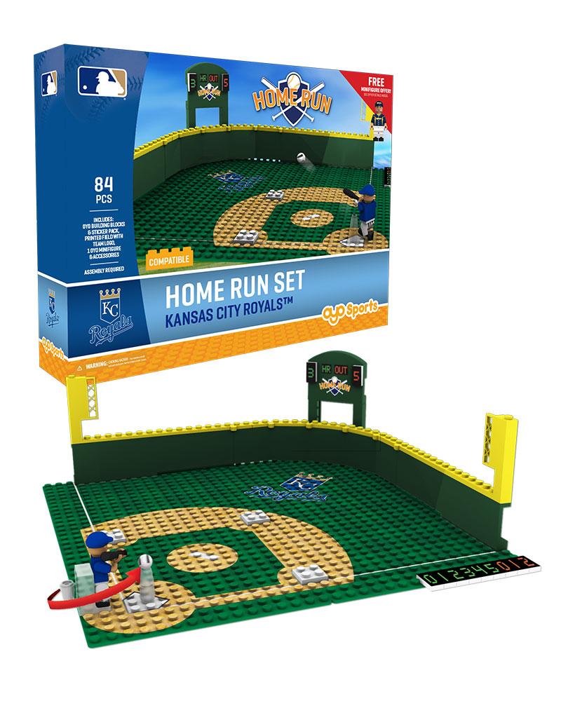 MLB KCR KansasÿCityÿRoyals Baseball Home Run Derby Set