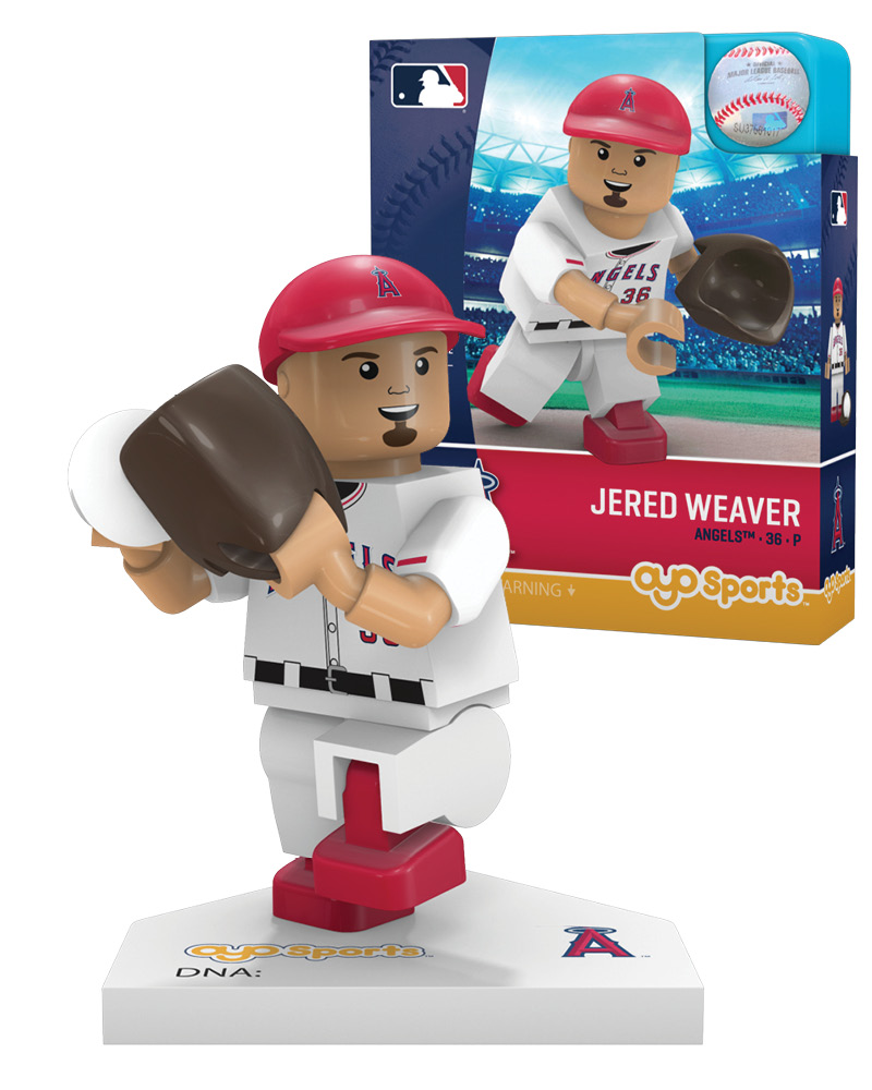 MLB LAA LosÿAngelesÿAngels of Anaheim JERED WEAVER Limited Edition