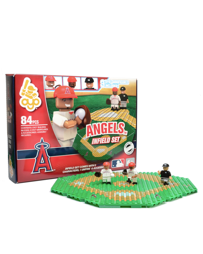 MLB - LAA - Los Angeles Angels of Anaheim N/A N/A Baseball Infield Set 2104