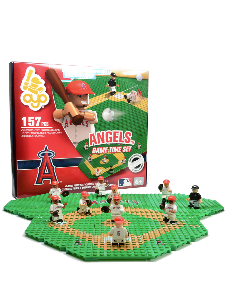 MLB LAA Los Angeles Angels of Anaheim Baseball Gametime Set 1.5