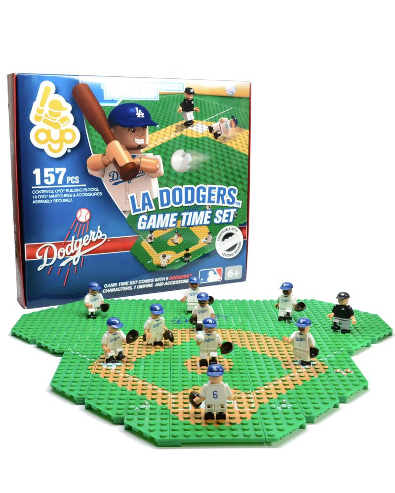MLB LAD Los Angeles Dodgers Baseball Gametime Set 1.5