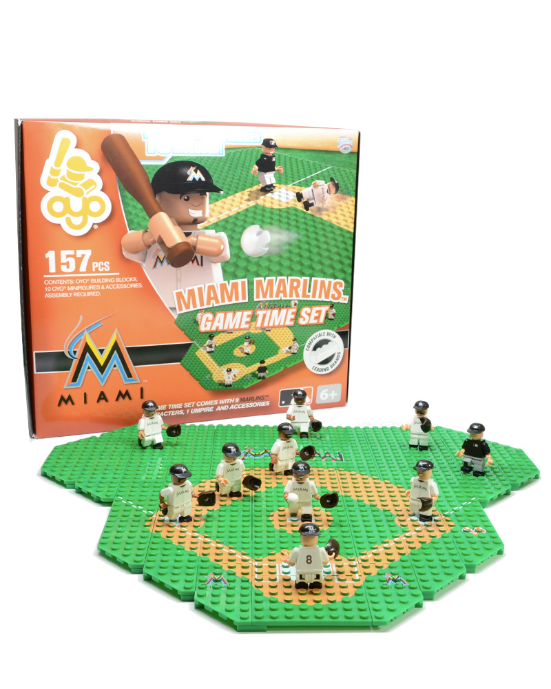 MLB MIA Miami Marlins Baseball Gametime Set 1.5