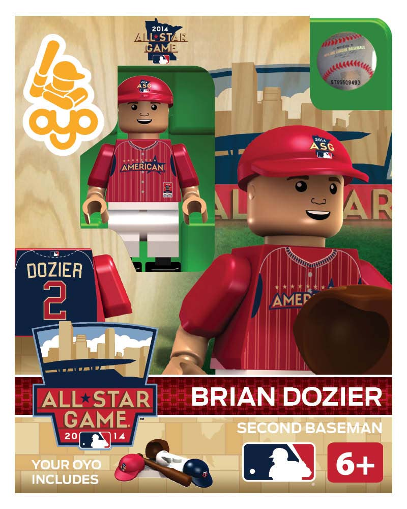 MLB - MIN - Minnesota Twins Brian Dozier All Star Game 2014 Limited Edition