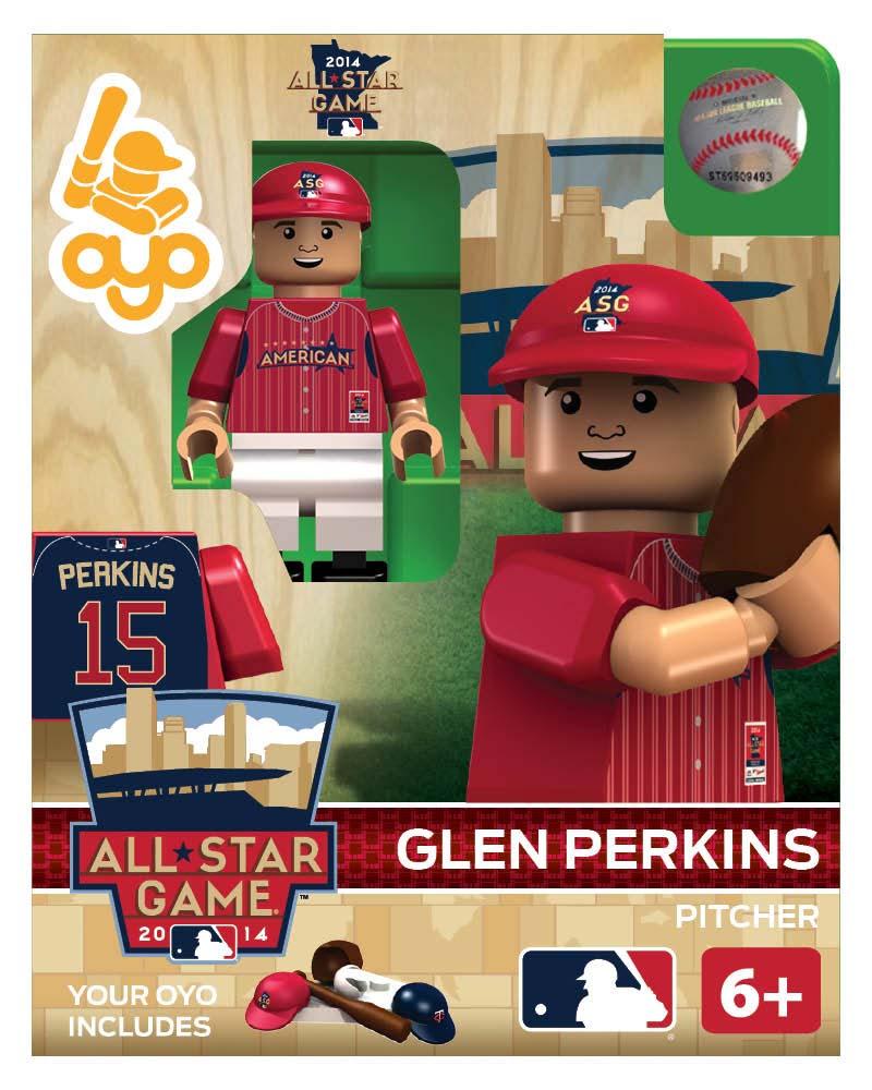MLB - MIN - Minnesota Twins Glen Perkins All Star Game 2014 Limited Edition