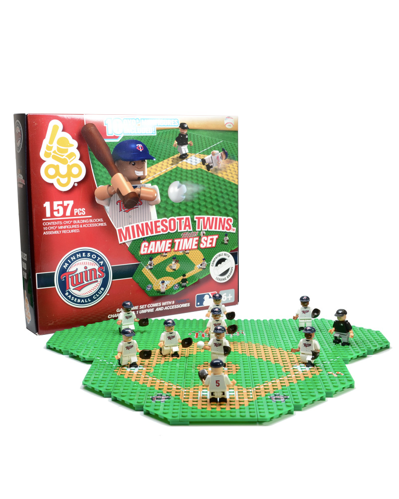MLB MIN Minnesota Twins Baseball Gametime Set 1.5