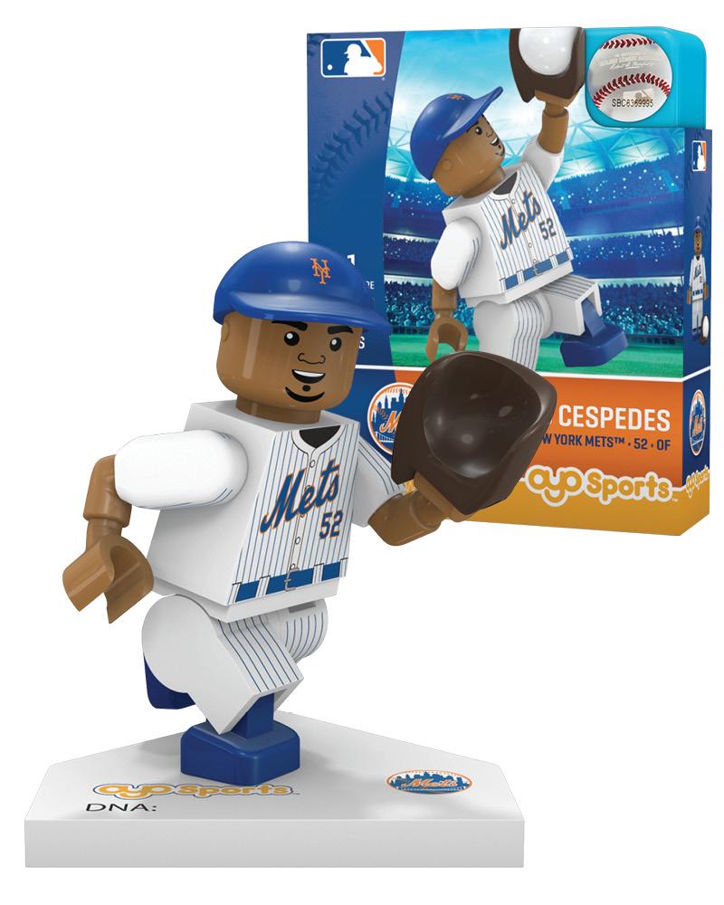 MLB NYM NewÿYorkÿMets YOENIS CESPEDES Limited Edition