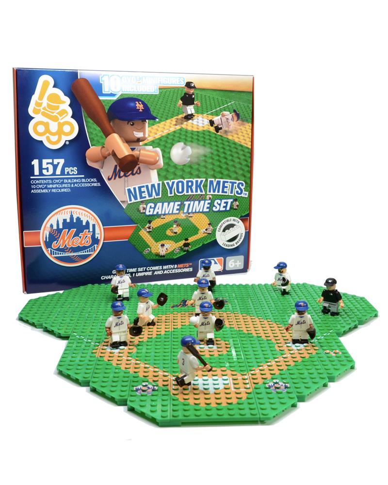 MLB NYM New York Mets Baseball Gametime Set 1.5