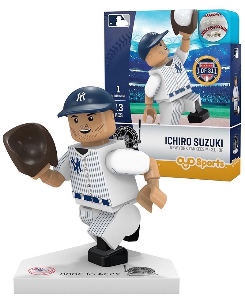 MLB NYY NewÿYorkÿYankees ICHIRO SUZUKI Special Limited Edition