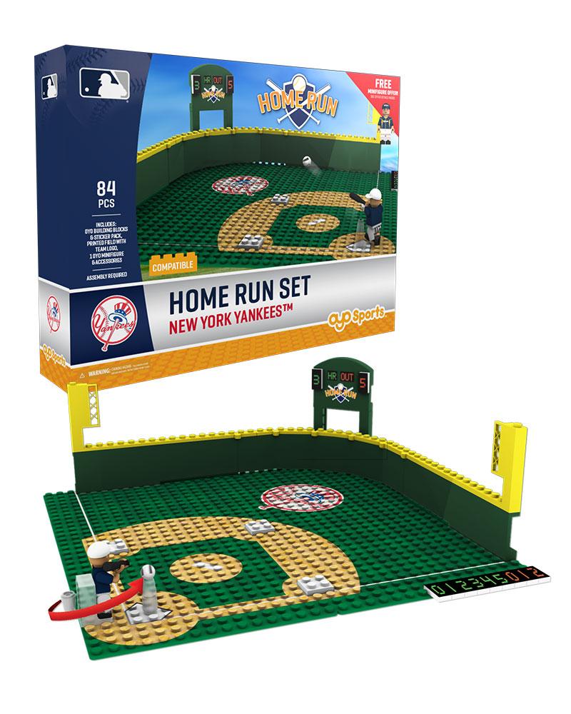 MLB NYY NewÿYorkÿYankees Baseball Home Run Derby Set