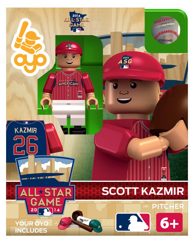 MLB - OAK - Oakland Athletics Scott Kazmir All Star Game 2014 Limited Edition