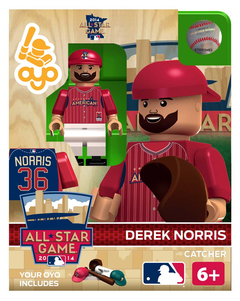 MLB - OAK - Oakland Athletics Derek Norris All Star Game 2014 Limited Edition