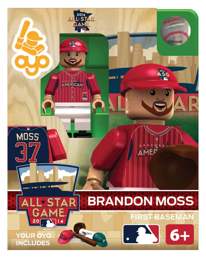 MLB - OAK - Oakland Athletics Brandon Moss All Star Game 2014 Limited Edition
