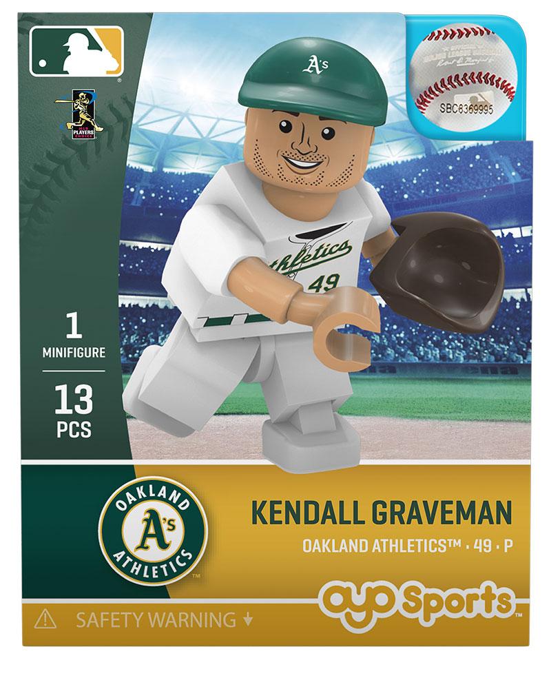 0241f1d8fd8 Kendall Graveman  Oakland Athletics