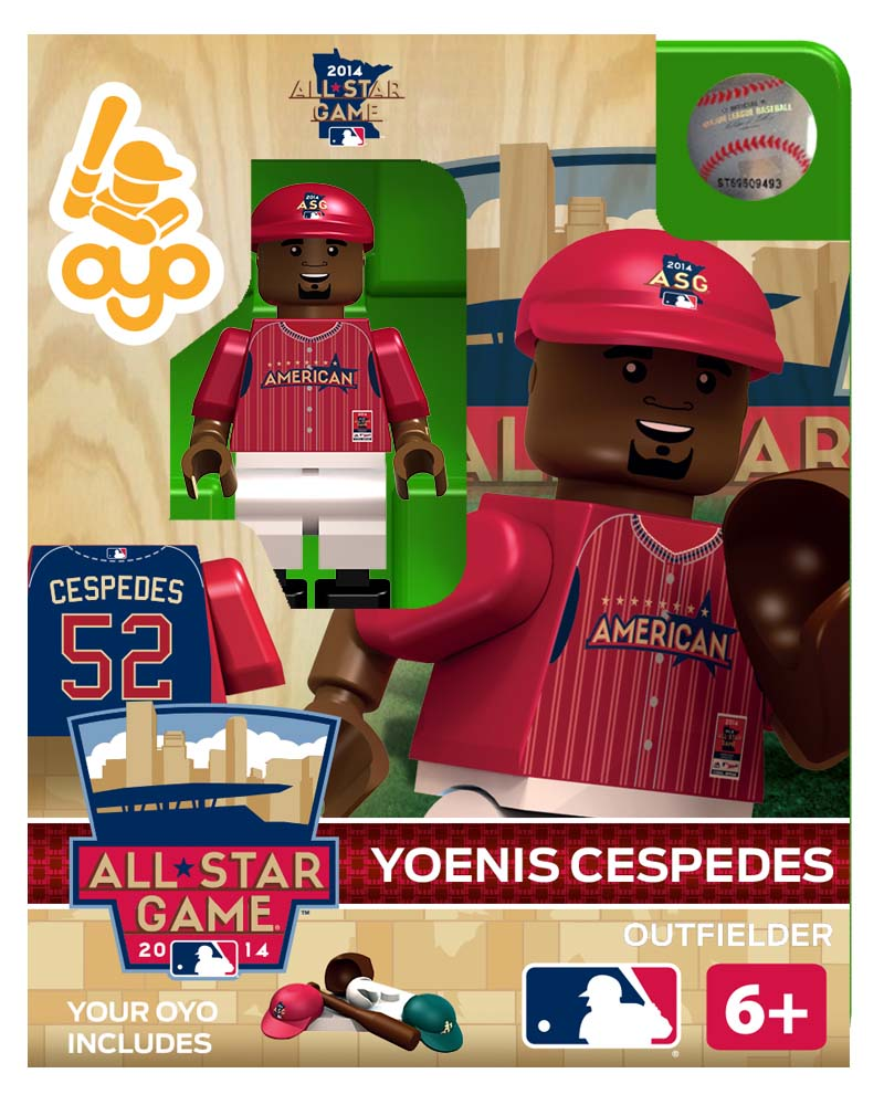 MLB - OAK - Oakland Athletics Yoenis Cespedes All Star Game 2014 Limited Edition