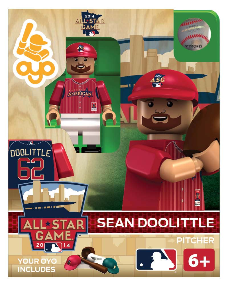 MLB - OAK - Oakland Athletics Sean Doolittle All Star Game 2014 Limited Edition