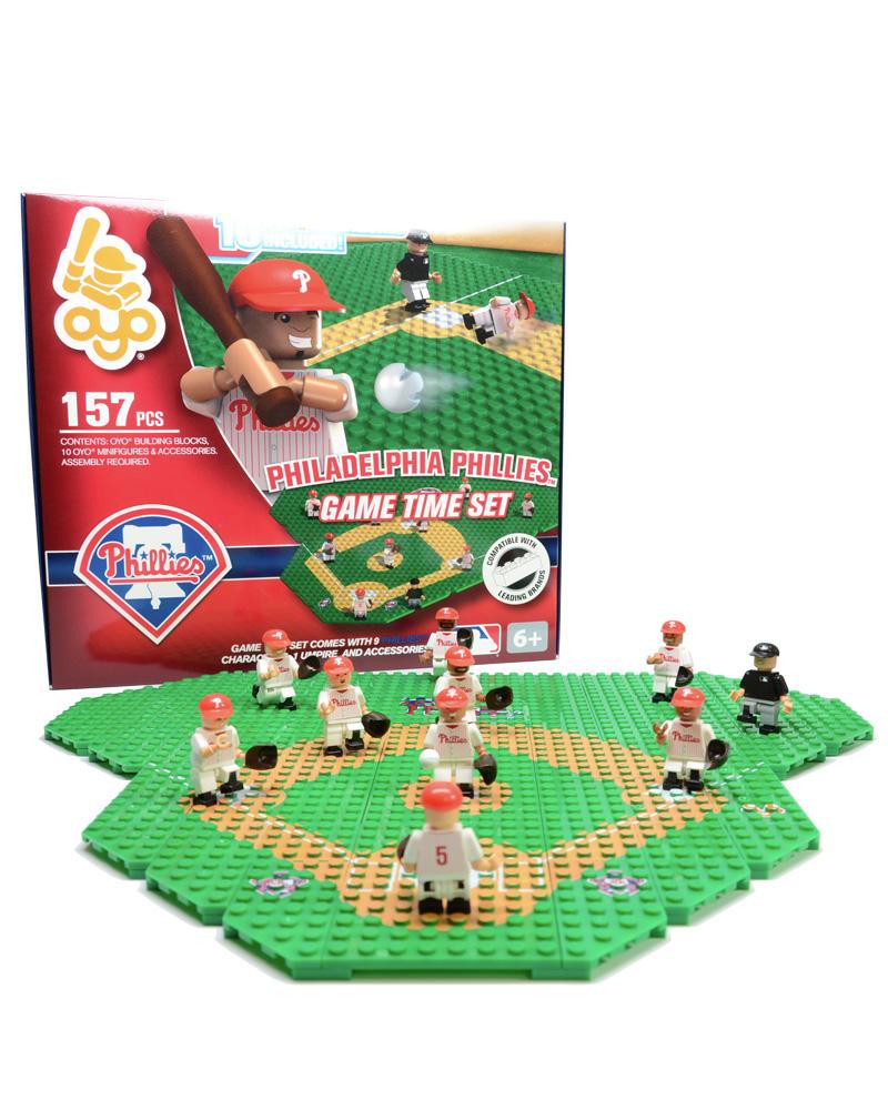 MLB PHI Philadelphia Phillies Baseball Gametime Set 1.5