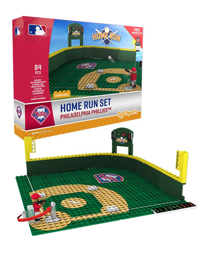 MLB PHI PhiladelphiaÿPhillies Baseball Home Run Derby Set