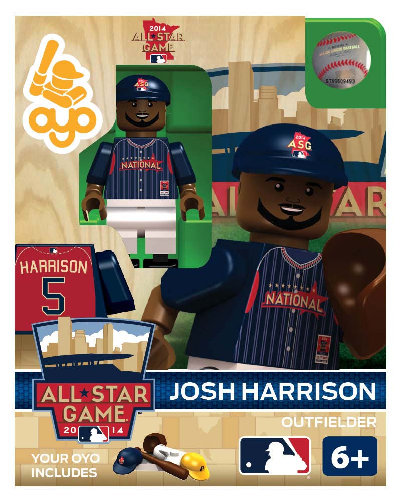 MLB - PIT - Pittsburgh Pirates Josh Harrison All Star Game 2014 Limited Edition