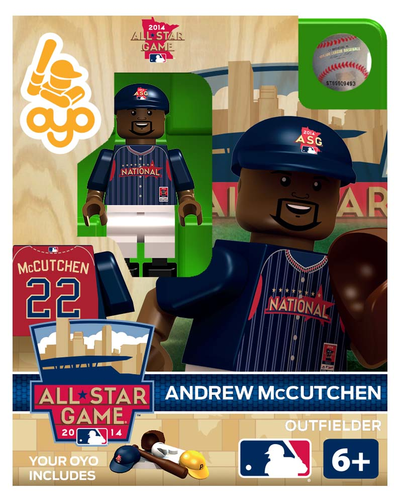 MLB - PIT - Pittsburgh Pirates Andrew McCutchen All Star Game 2014 Limited Edition
