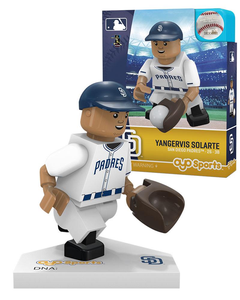 MLB SDP SanÿDiegoÿPadres YANGERVIS SOLARTE Home Uniform Limited Edition