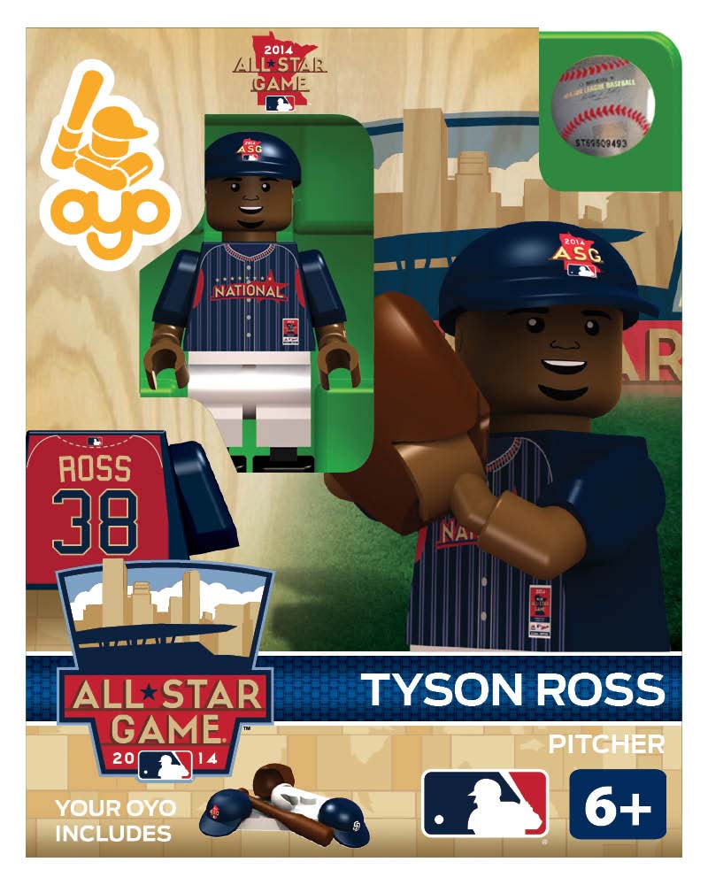 MLB - SDP - San Diego Padres Tyson Ross All Star Game 2014 Limited Edition