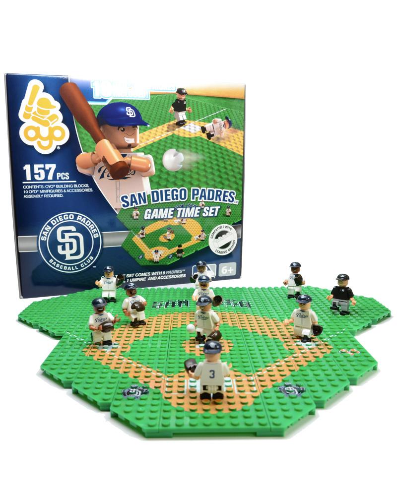 MLB SDP San Diego Padres Baseball Gametime Set 1.5