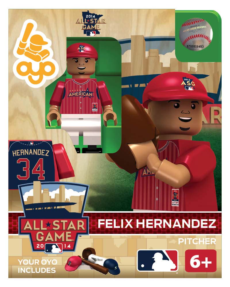 MLB - SEA - Seattle Mariners Felix Hernandez All Star Game 2014 Limited Edition