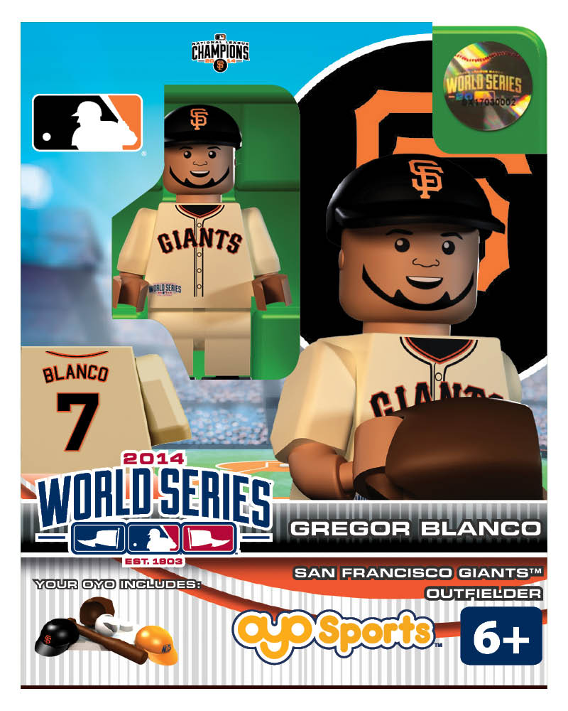 MLB - SFG - San Francisco Giants Gregor Blanco World Series Participant Limited Edition