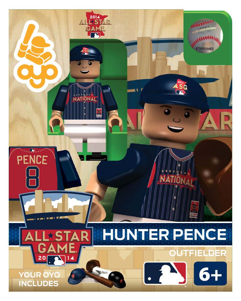 MLB - SFG - San Francisco Giants Hunter Pence All Star Game 2014 Limited Edition