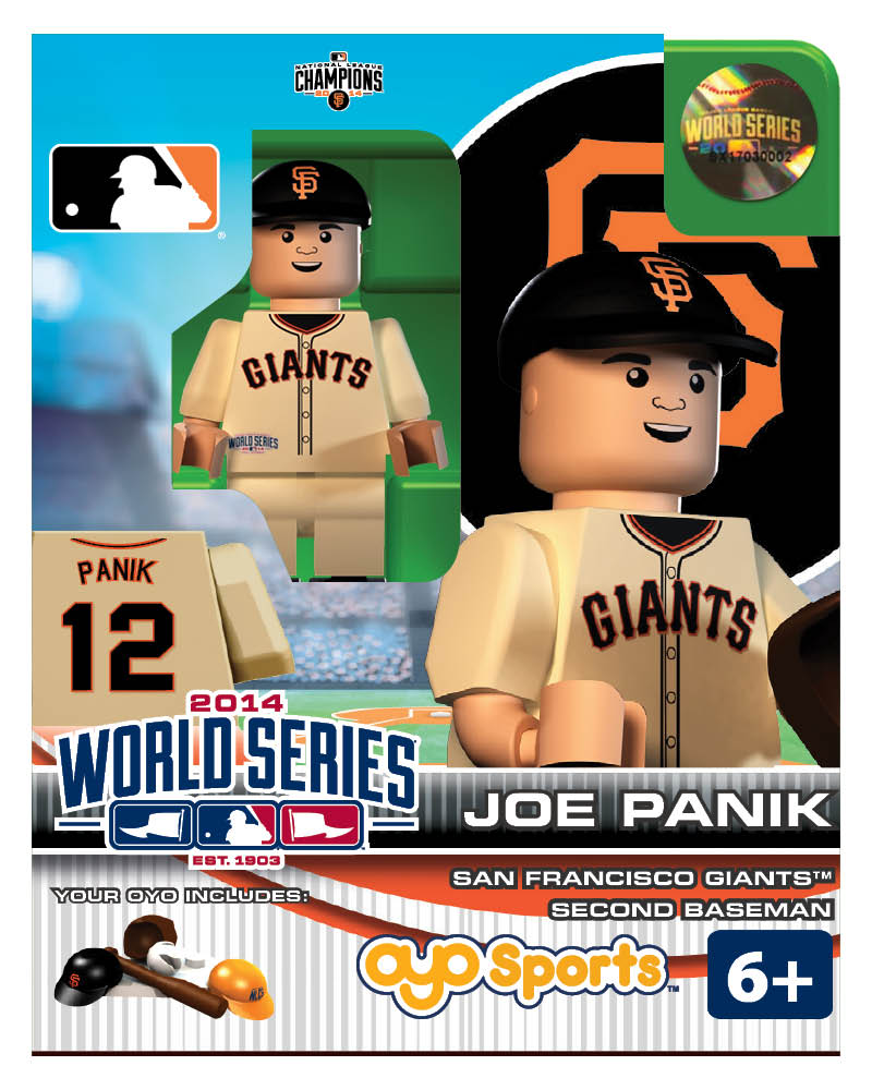 MLB - SFG - San Francisco Giants Joe Panik World Series Participant Limited Edition