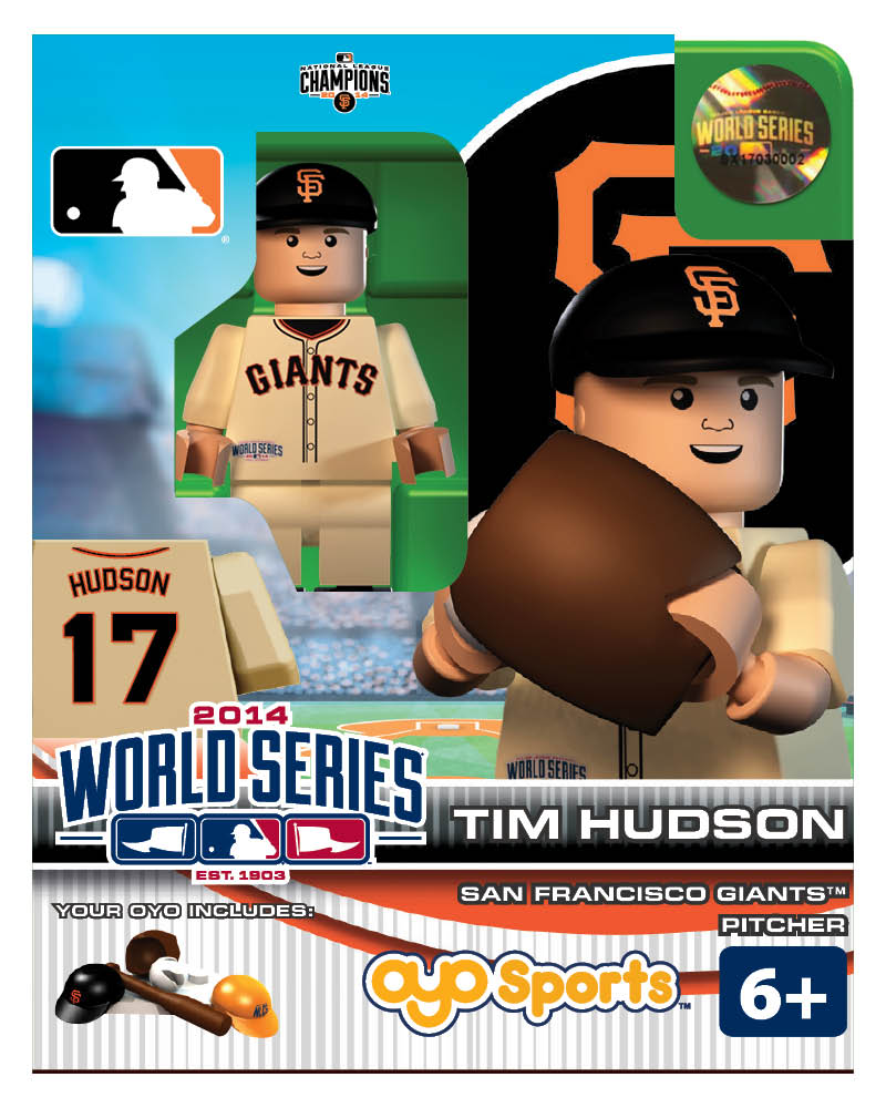 MLB - SFG - San Francisco Giants Tim Hudson World Series Participant Limited Edition