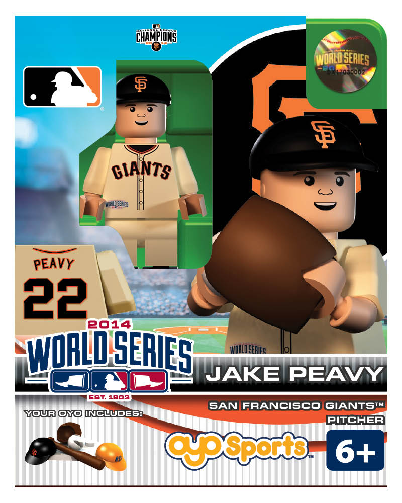 MLB - SFG - San Francisco Giants Jake Peavy World Series Participant Limited Edition