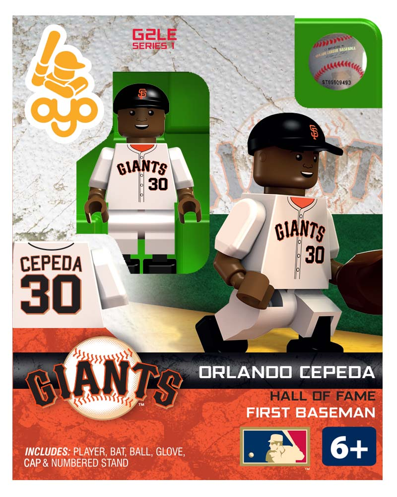 MLB - SFG - San Francisco Giants Orlando Cepeda Hall of Fame Limited Edition