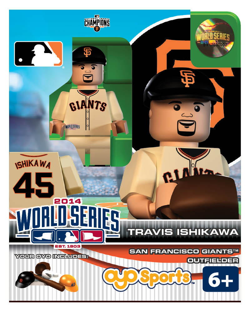MLB - SFG - San Francisco Giants Travis Ishikawa World Series Participant Limited Edition
