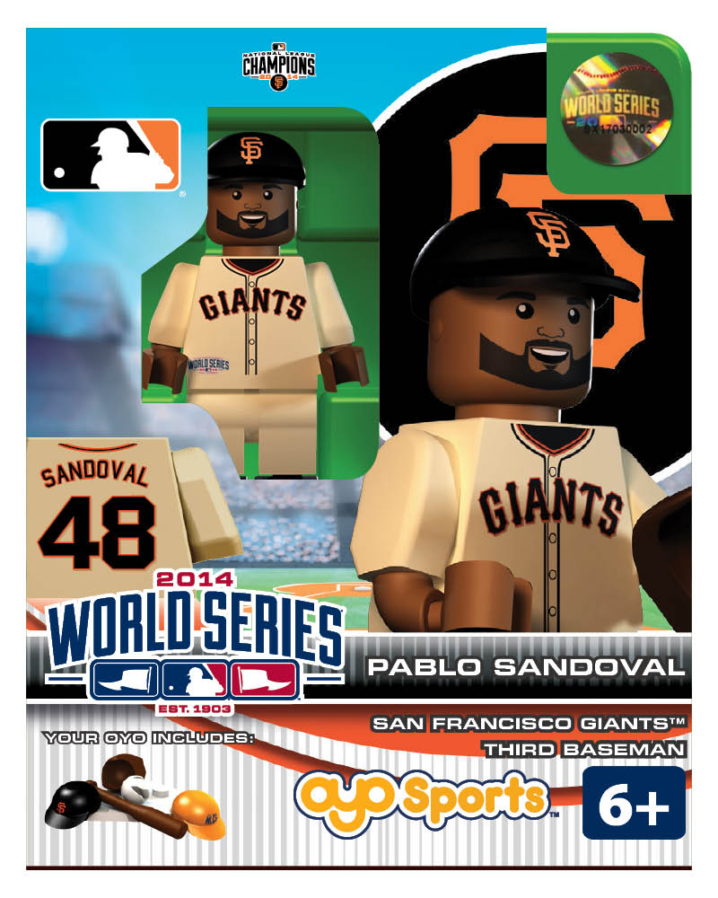 MLB - SFG - San Francisco Giants Pablo Sandoval World Series Participant Limited Edition