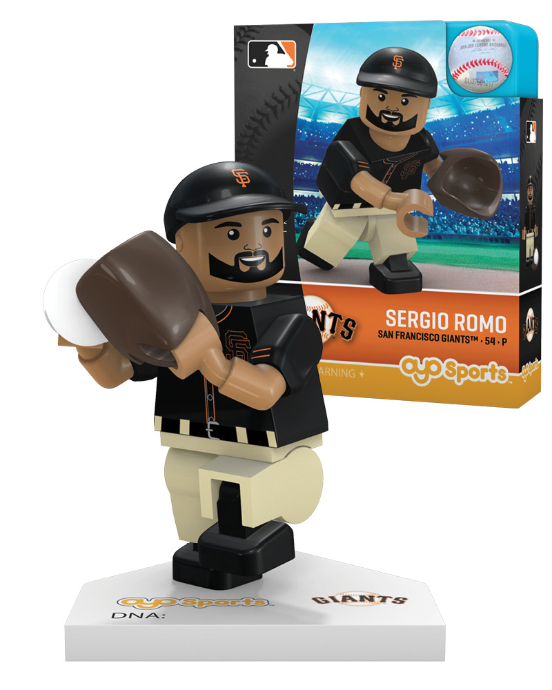MLB SFG San Francisco Giants SERGIO ROMO Limited Edition