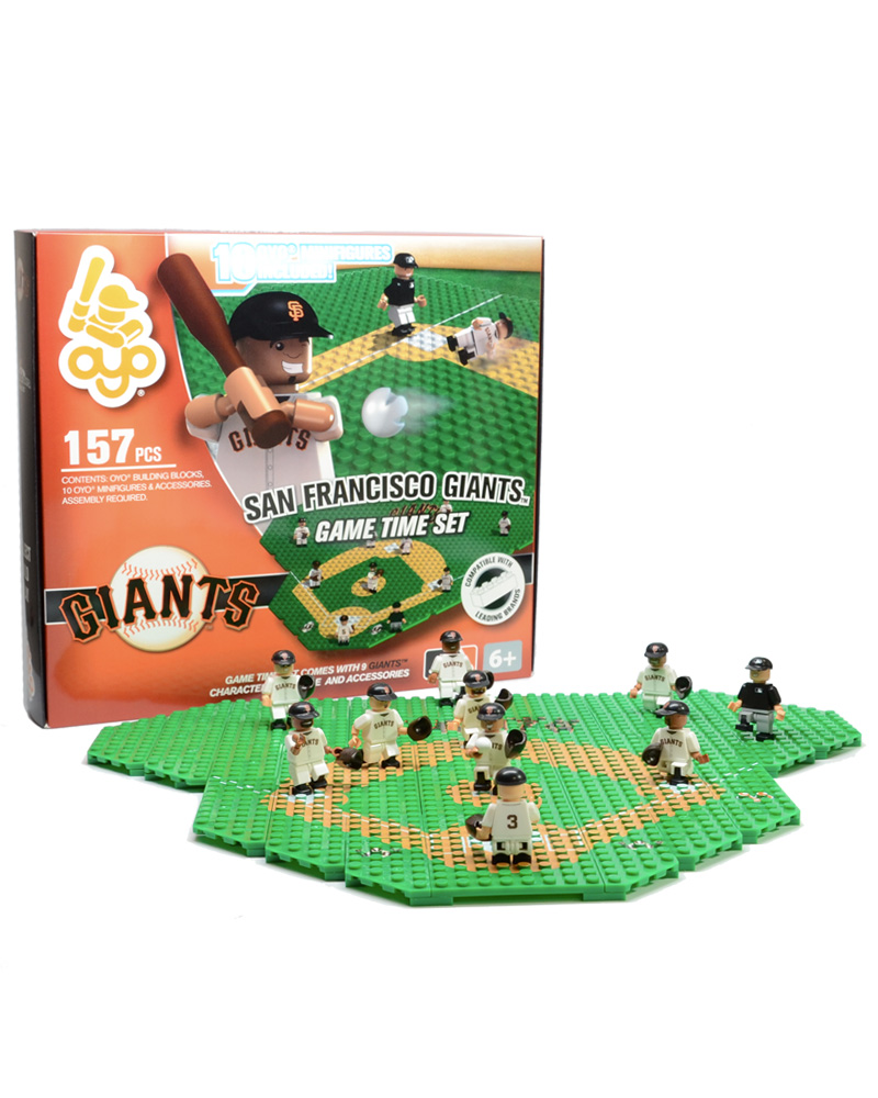 MLB SFG San Francisco Giants Baseball Gametime Set 1.5