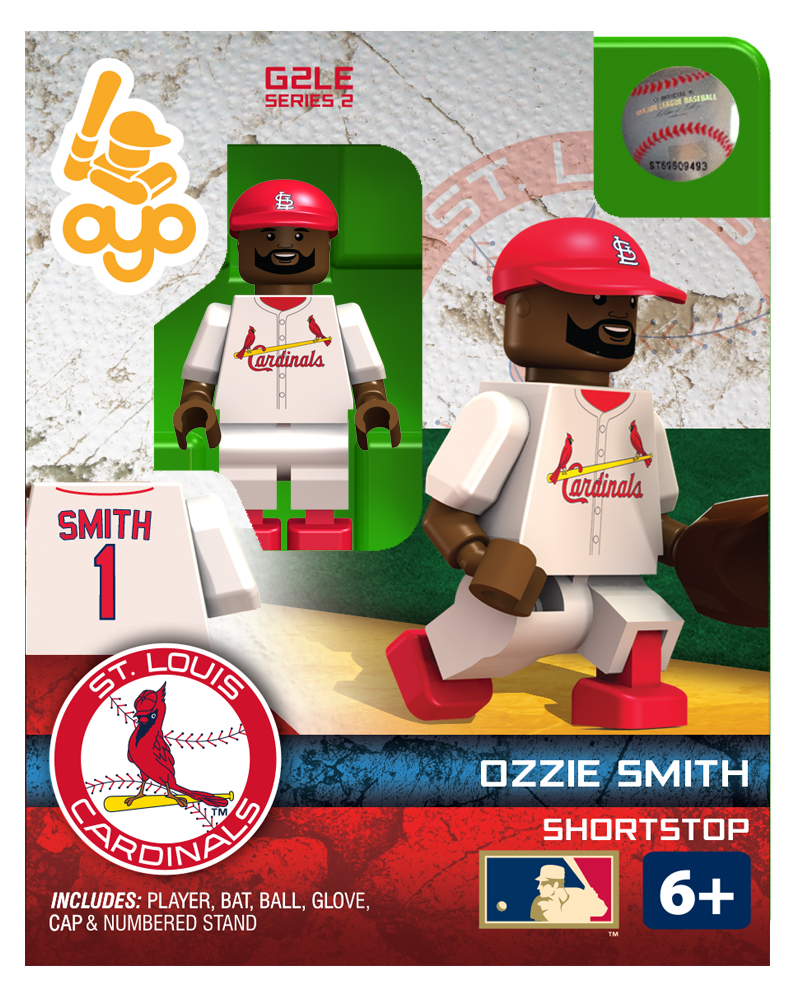 MLB STL St. Louis Cardinals Ozzie Smith Hall of Fame Limited Edition
