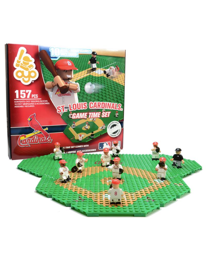 MLB STL St. Louis Cardinals Baseball Gametime Set 1.5