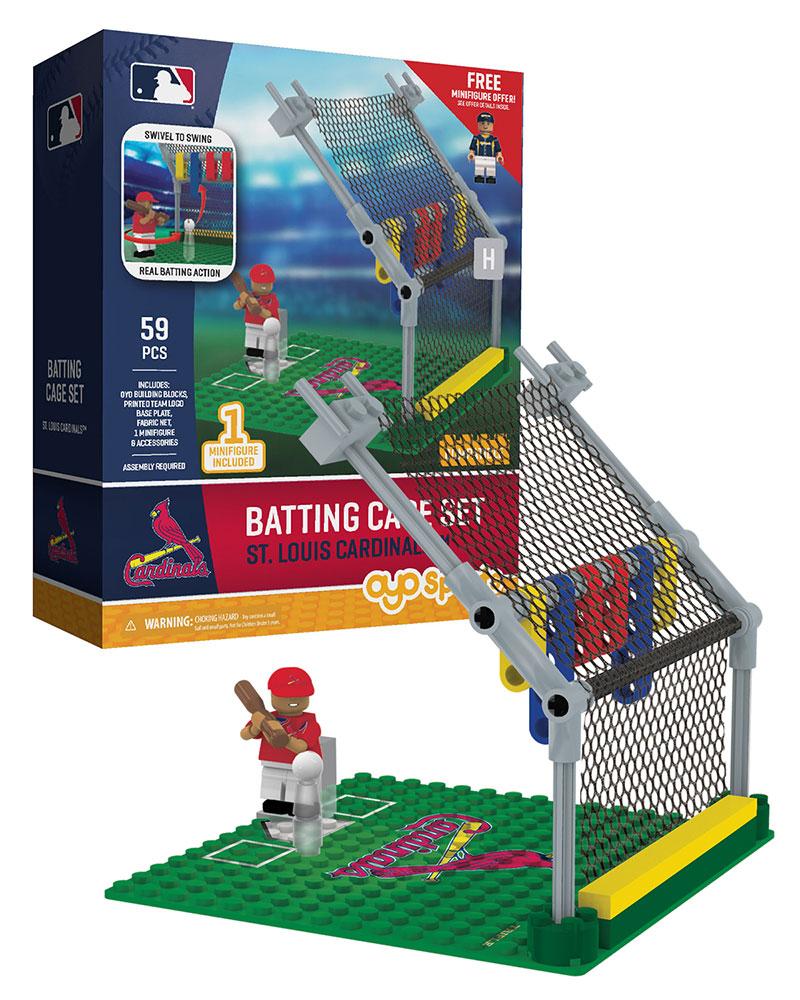 MLB STL St.ÿLouisÿCardinals 0 Baseball Batting Cage
