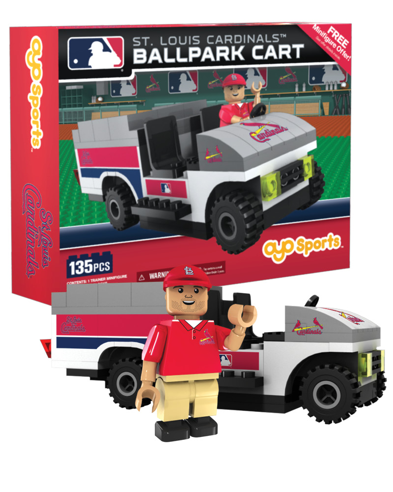 MLB STL St. Louis Cardinals Trainer Cart
